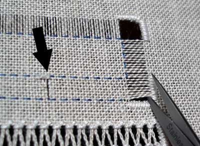 Drawn Thread Embroidery: Another Way to Secure the Edge – Needle'nThread.com:
