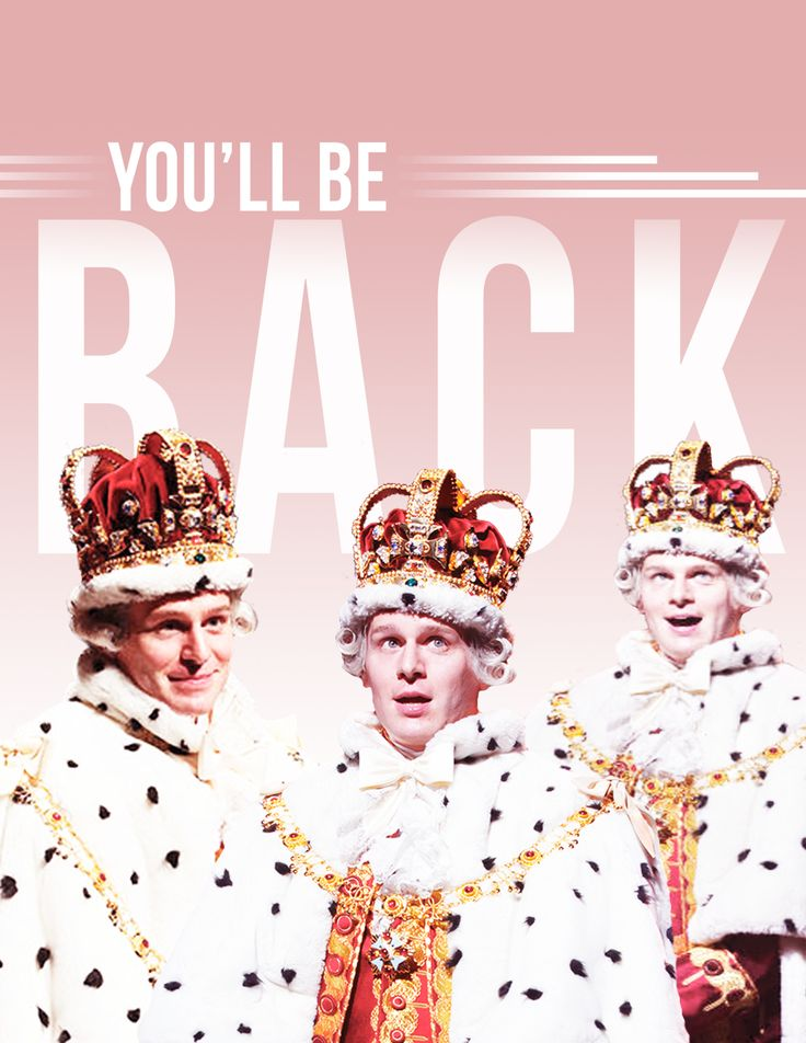 "Hamilton: Jonathan Groff as King George III; ""awesome! wow!"""