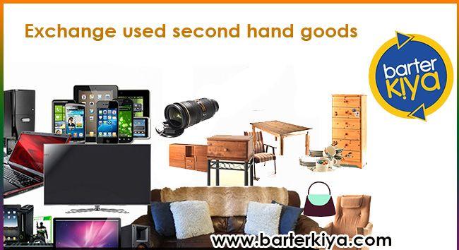 Barterkiya is India's No.1 Bartering website to exchange your unwanted used goods. List your wish-list to exchange @ www.barterkiya.com