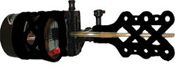EXTREME ARCHERY PRODUCTS Extreme EXR Sniper 1900 .010 Black Sight w/Sunshade & Light, EA