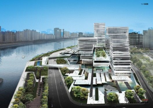 Guangzhou Daily Group Culture Center / IAPA | ArchDailyExcel Awards, Group Culture, Design Consultant, Chinese Culture, Guangzhou Daily, Design Competition, Daily Group, Culture Center, Architecture Design
