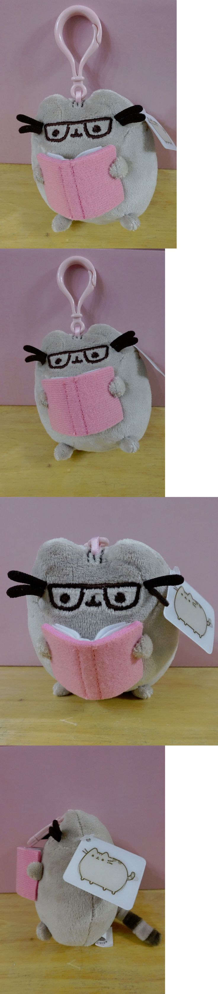 Gund 2598: Pusheen Small Reading Book Glasses Plush Backpack Clip Books-A-Million Exclusive -> BUY IT NOW ONLY: $30 on eBay!
