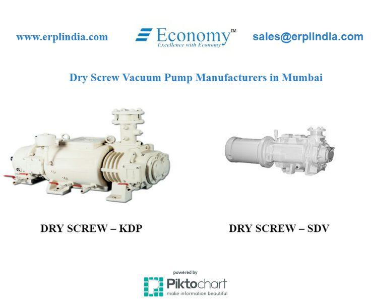 ERPL INDIA leading Dry Screw Vaccume Pump Manufacturers in Mumbai