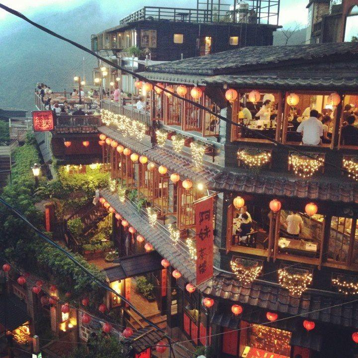 Jioufen, Nueva ciudad de Taipei, Taiwán - Jiufen es una pequeña localidad de montaña cerca de Keelung, en la costa norte de Taiwán, y pertenece al distrito de la Ciudad de Nuevo Taipéi.