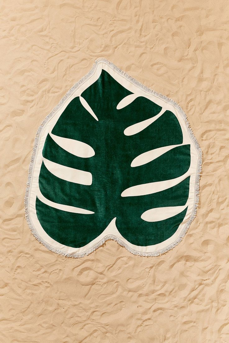 Shop ban.do Monstera Leaf Oversized Beach Towel at Urban Outfitters today. We carry all the latest styles, colors and brands for you to choose from right here.