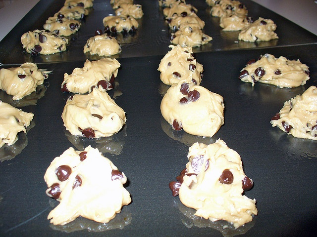 Amazing Vegan Chocolate chip Cookies.  I made these - they were gone very quickly!