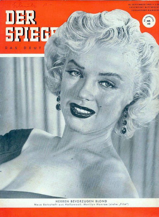 17 best images about marilyn on the cover of a magazine on for Der spiegel magazin