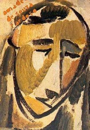 Amadeo de Souza-Cardoso (Portuguese: 1887 – 1918) | Head  1913