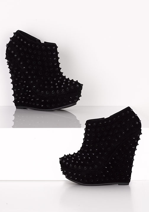15 best Studded Wedges images on Pinterest | Heels, Shoes and ...