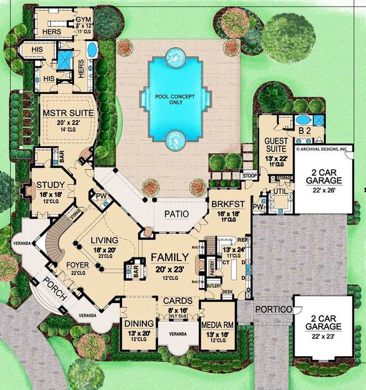 Monticello Place | Texas Floor Plans | Luxury Floo…