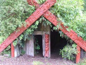 """Maori """"marae atea"""" in New Zealand."""