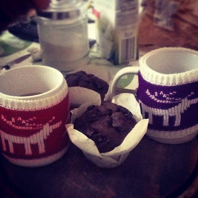 Sunday #breakfast #instafood #instagood #instamood #igersitalia #igersbrescia #foodporn #coffee #muffin