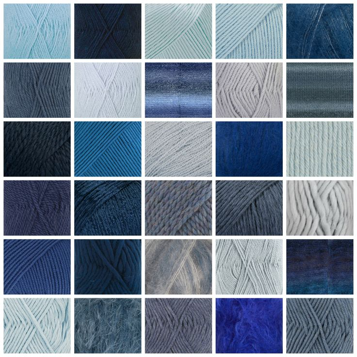 Beautiful Blues! What is your favorite? On the #garnstudio website you can search on colour in our #yarns and models!