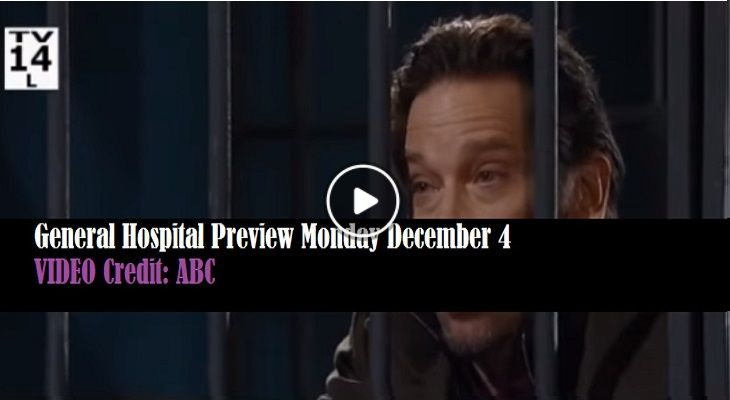 WATCH: General Hospital (GH) Preview Monday December 4