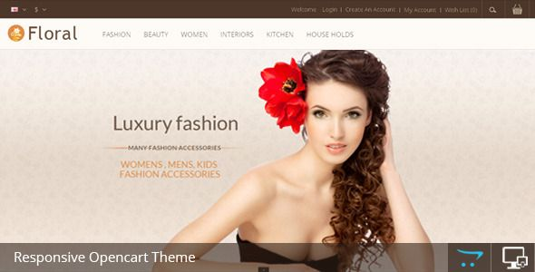 Floral - Opencart Responsive Template