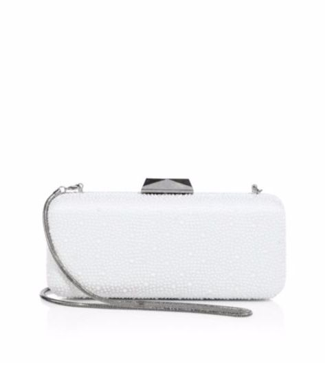 Saks Fifth Avenue Collection - Long Rectangular Clutch #saksstyle
