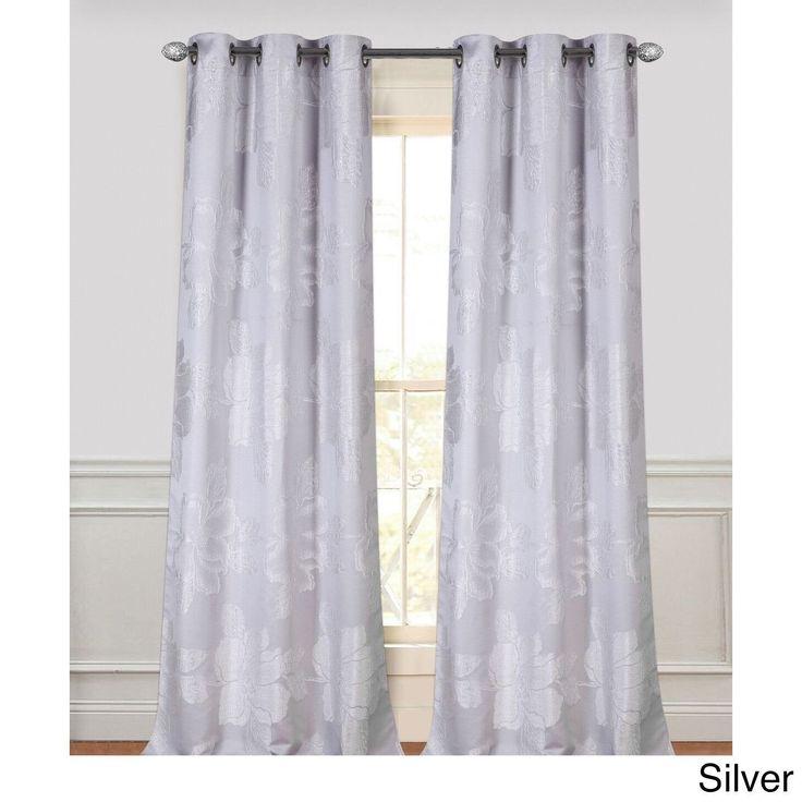 best 25 silver grey curtains ideas on pinterest. Black Bedroom Furniture Sets. Home Design Ideas