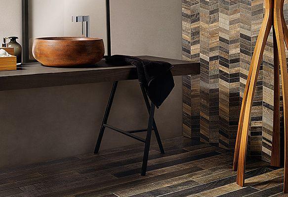 Wood Mood Quercia, 9x90 + Mosaico Chevronpart
