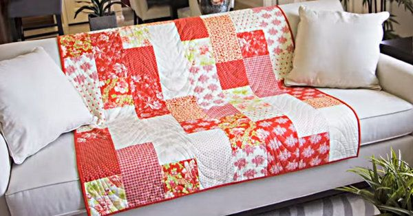 The Fat Quarter Fizz Is Such A Fun, Easy Quilt!