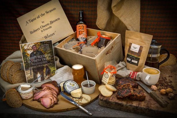 Christmas beers: Blackjack's ginger ale in Manchester chef Rob Owen Brown's hamper for Booths