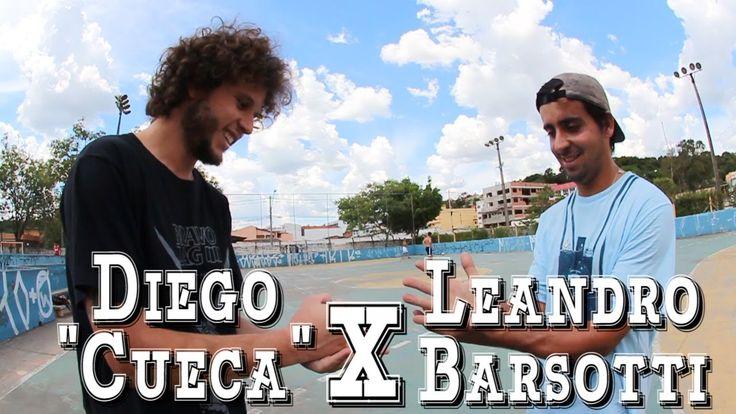 """PRONTO PRO GAME - Diego """"Cueca"""" x Leandro Barsotti - SKATE"""