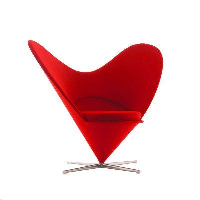 Heart Chair – Verner Panton #verner #panton