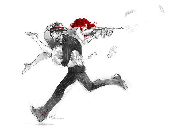 Bonnie and Clyde by zetallis on DeviantArt