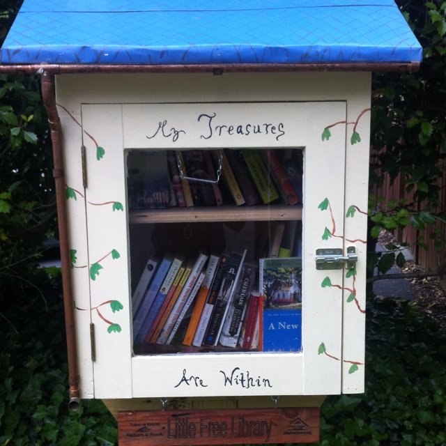 39 Ingenious Diagrams For Your Home And Garden Projects: 91 Best Little Lending Library Images On Pinterest