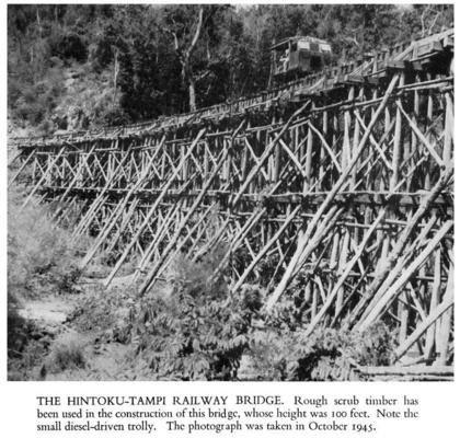 "Japanese Forces - Burma Railway - ""Bridge on the River Kwai""."