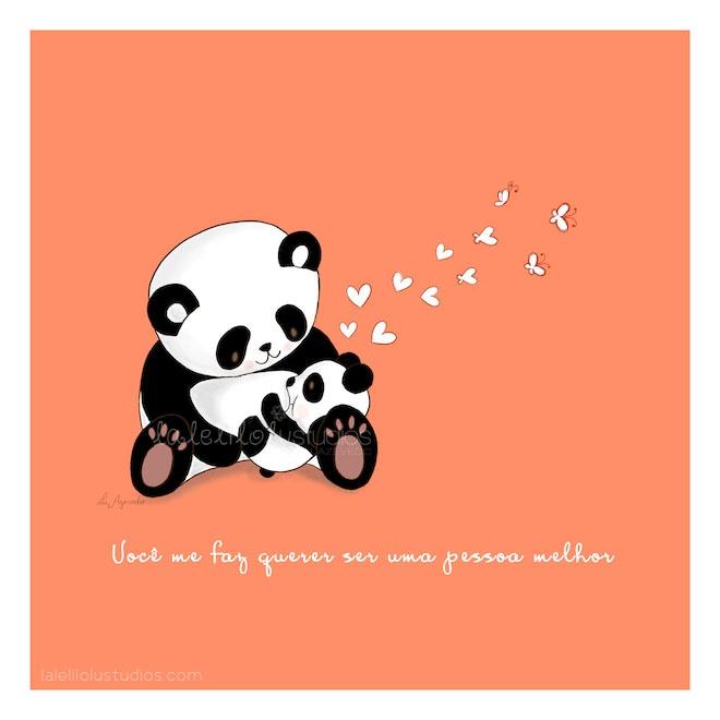 By Lu Azevedo http://lalelilolustudios.com You make me wanna be a better person