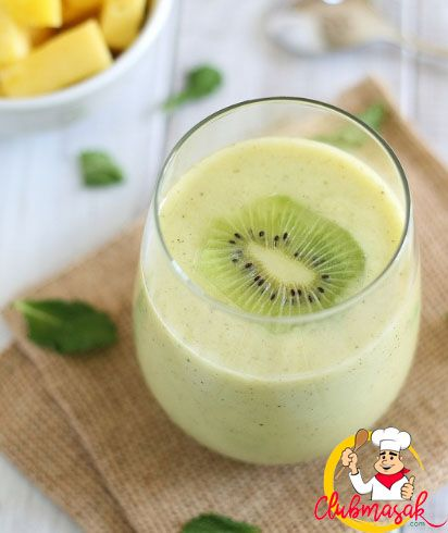 Resep Smoothie Kiwi Mentimun Buah Delima, Resep Minuman Untuk Berbuka Puasa, Club Masak