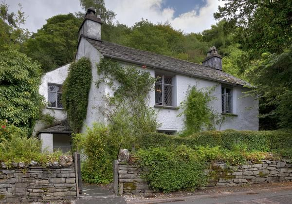 Dove Cottage, the home of the poet William Wordsworth, at Grasmere in the Lake District