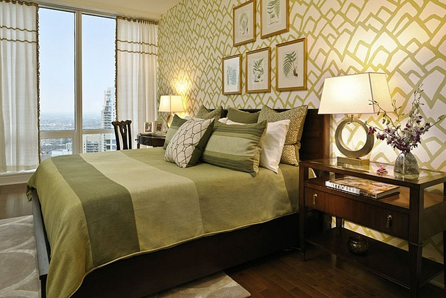 Trump International Hotel & Tower Chicago. Interior Design by Mary Cook.