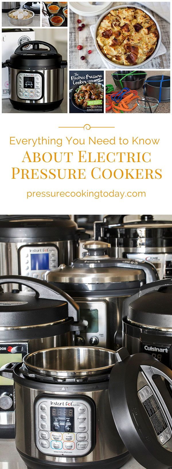 Want to learn how to use an Instant Pot or other multicooker? Here's everything you need to know about electric pressure cookers, plus reviews and recipes! . . #pressurecooking #gettingstarted #instantpot