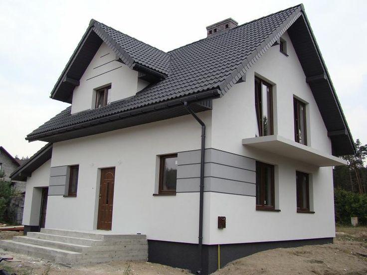 Znalezione obrazy dla zapytania elewacje domów