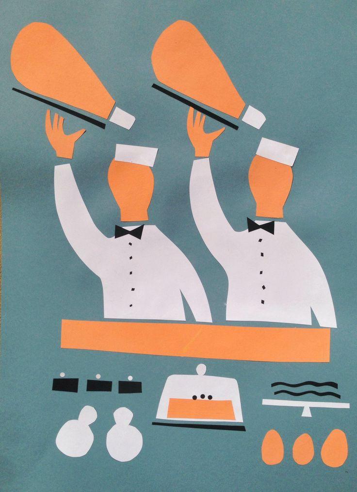 Banconieri al lavoro by @Gio Pastori #Peck