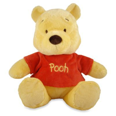 Disney Baby® Winnie the Pooh Primary Winnie the Pooh Stuffed Animal - BedBathandBeyond.com