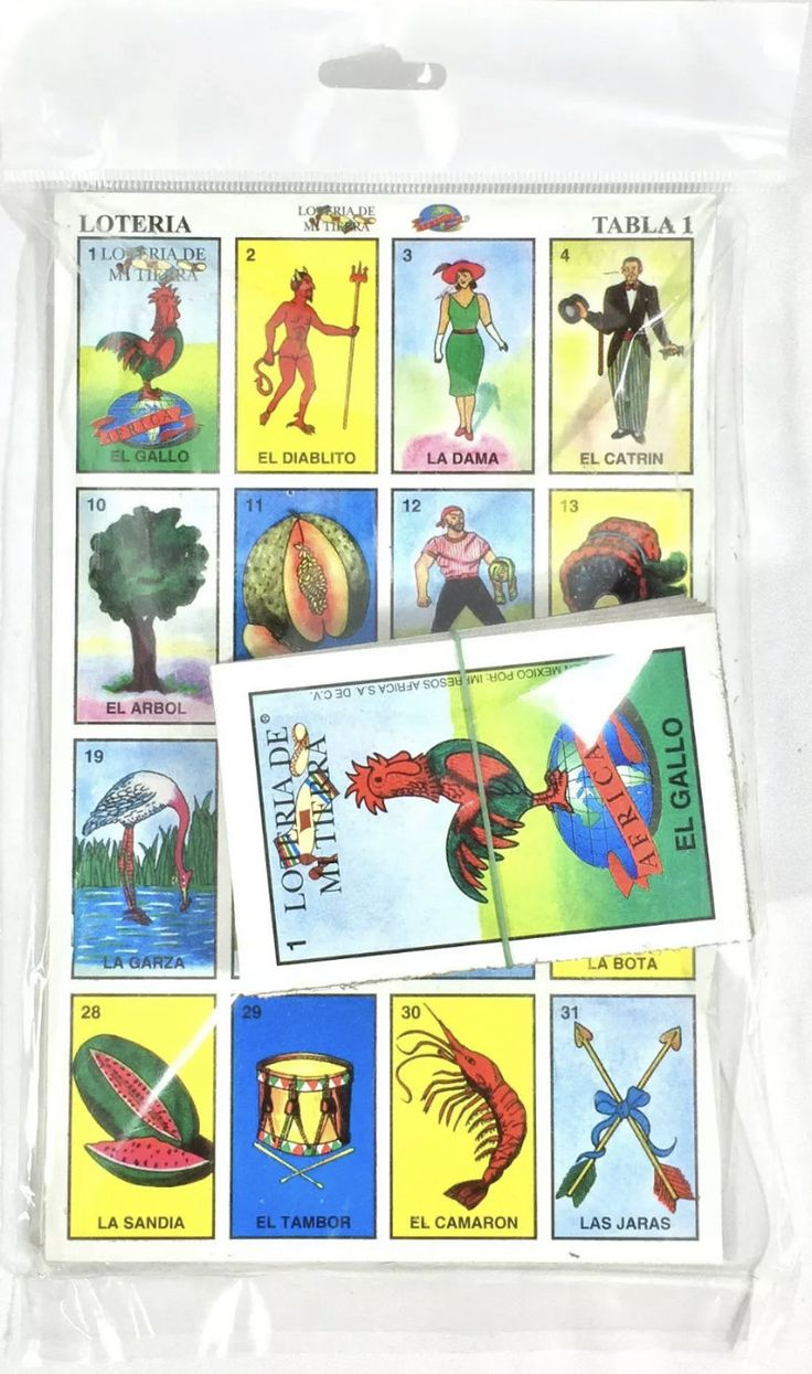 Loteria mexican mexican bingo cards loteria game 10