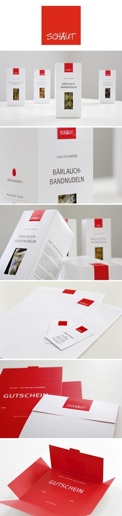 Corporate Design for a Pasta Manufactury