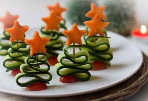 Feestelijke kersthapjes voor kinderen   Moonoloog.nl