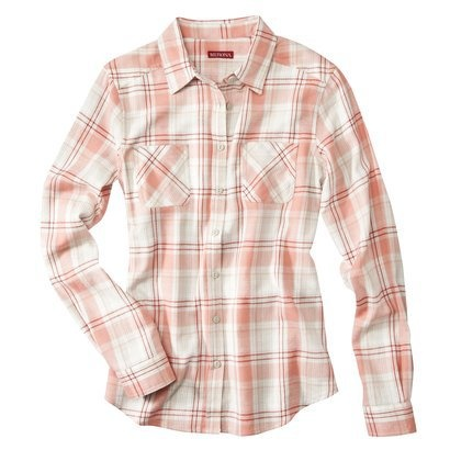 Merona® Women's Flannel Shirt - Pink/Red - 56 Best Flannel/Square Shirts Images On Pinterest Flannels