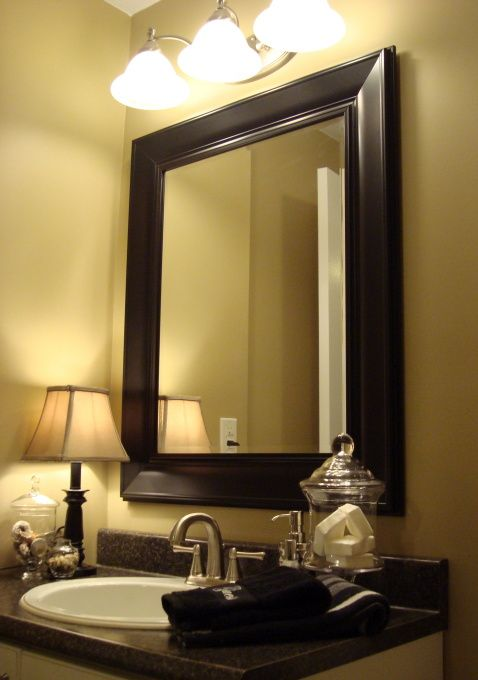 Basement bathroom mini makeover bathroom designs decorating ideas hgtv rate my space - Hgtv basement designs ...