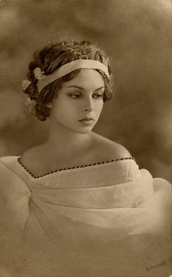 Beautiful Black and White Vintage Photo