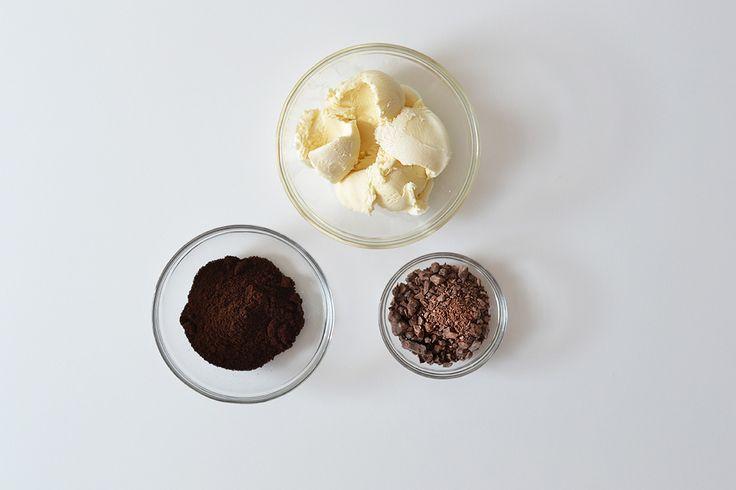 Roomijs met chocoladekoffie <3