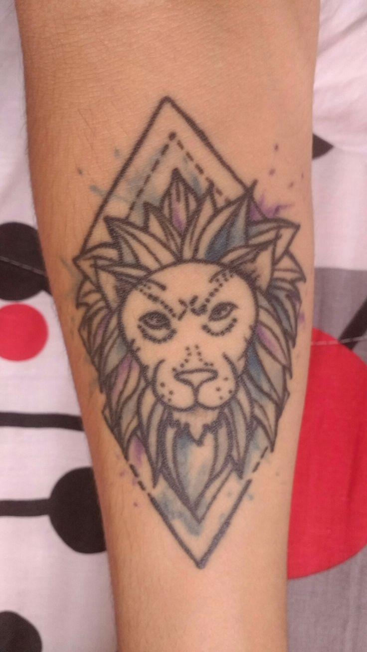 León - tatuaje. 🦁