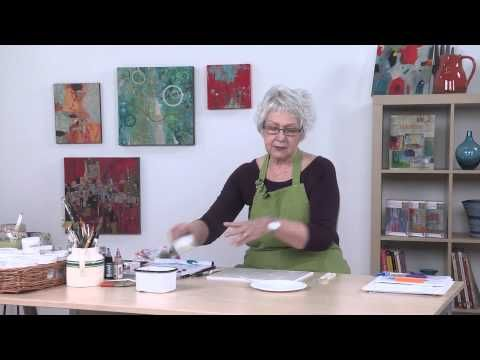 Acrylic Painting: Glazing Techniques with Chris Cozen - YouTube