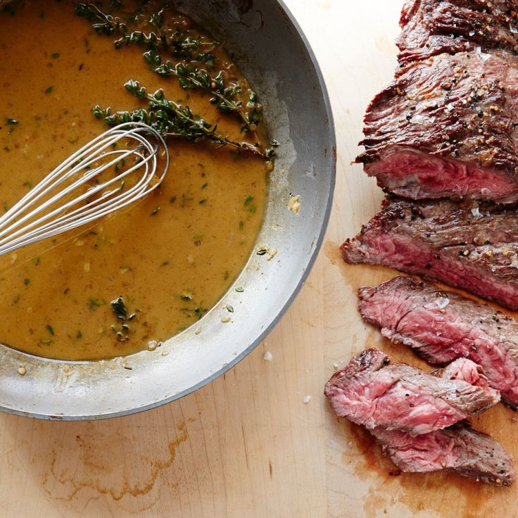 Skirt Steak with Shallot Pan Sauce | Recipe | Skirt Steak, Steaks and ...