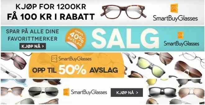 Solbriller rabatt på Norge