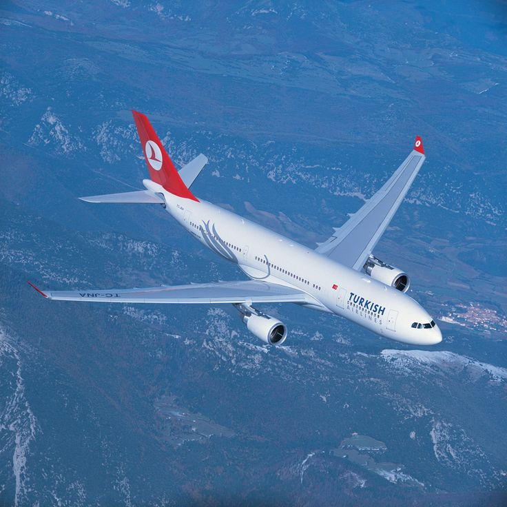 "Turkish Airlines Airbus A330-203 TC-JNA ""Gaziantep"" in a promotional image for the airline. (Image: Turkish Airlines)"