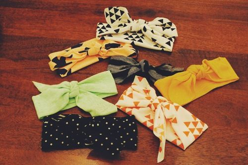 Easy DIY Baby Headbands — the pop-up life